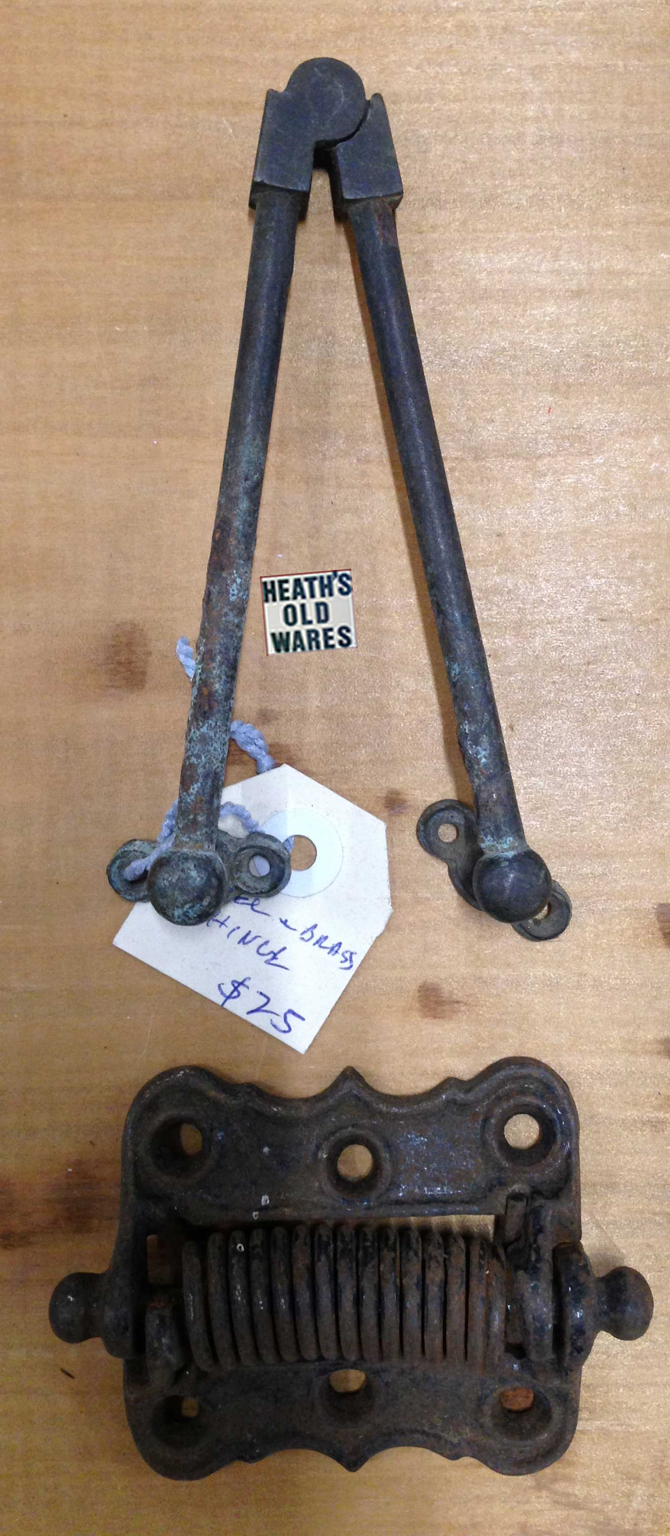 Antique door hardware for sale at Heaths Old Wares, Collectables & Industrial Antiques, 19-21 Broadway, Burringbar NSW 2483 Ph 0266771181