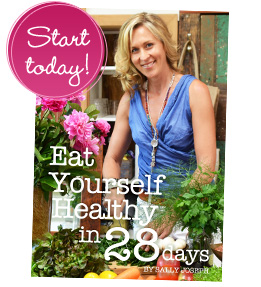 sally joseph nutritionist Australian author of Eat uyourself healthy in 28 days download ebook